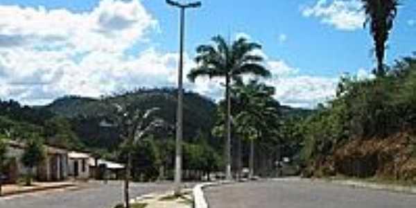 Entrada da cidade de Meruoca-Foto:Ivo Dias