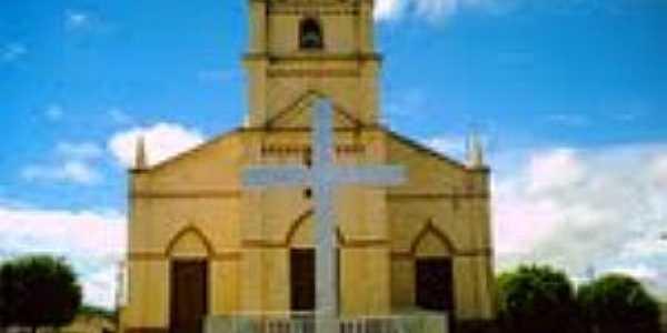 Valência-CE-Igreja Matriz-Foto:Cristiano Gomes Lopes