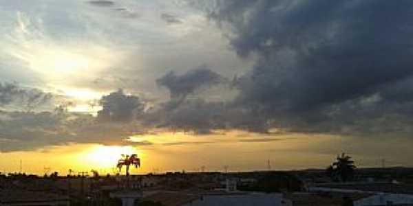 Milagres-CE-Pôr do Sol-Foto:Alexandel Cavalcante