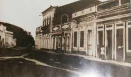 Porto Calvo - Porto Calvo, Uma de suas ruas 1920, Por Edval Carvalho