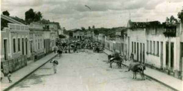 Centro de Porto Calvo,  1920, Por Edval Carvalho