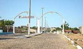 Miraíma - Pórtico de entrada de Miraíma-Foto:Angelo Lustosa