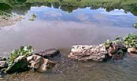 Miraíma - Rio do Açude São Pedro da Timbaúba-Foto:Angelo Lustosa