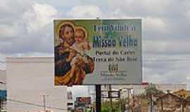 Missão Velha - Entrada da cidade de Missão Velha-CE-Foto:Erivan Oliveira
