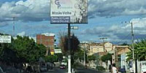 Entrada da cidade de Miss�o Velha-CE-Foto:walterfmota