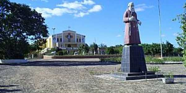 Missão Velha-CE-Praça da Igreja Novo Milênio-Foto:professor_pepe