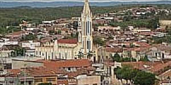 Vista da área central de Mombaça-Foto:Salles Ribeiro