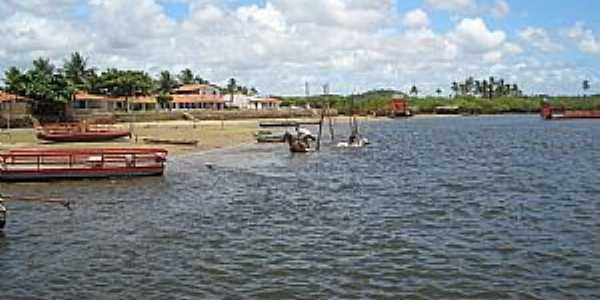 Porto de Pedras-AL-Cavalos no Rio Manguaba-Foto:Biel_Quintela