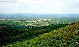 Monte Sion - Vista de Monte Sion do alto da Serra - Foto: Mônica Alencar