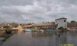 Moraújo - Cidade de Moraújo vista da Barragem-Foto:Valmigleison