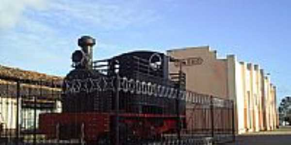 Velha Locomotiva Porto Real do Colégio por Junior.prc