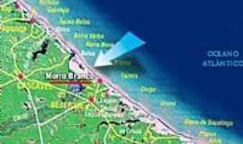 Morro Branco - Mapa