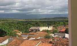 Mucambo - Vista parcial da cidade,ao fundo o açude-Foto:Alan Oliveira