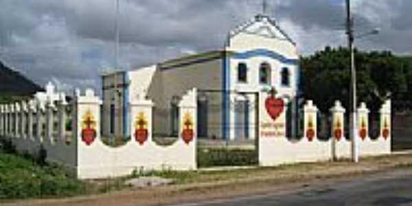 Capela do Sagrado Coração de Jesus-Foto:Francisco Edson Mend…