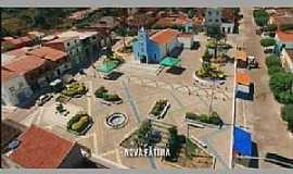 Nova Fátima - Nova Fátima-CE-Vista aérea do centro-Foto:Facebook