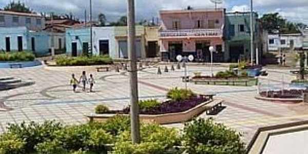 Nova Fátima-CE-Praça da Matriz-Foto:Facebook