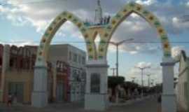 Nova Russas - Arco de Nossa Senhora de Fatima, Por Criart�Studio