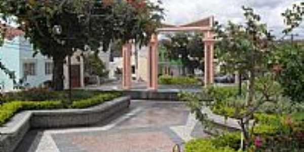 Praça Getúlio Vargas em Quebrângulo-Foto:Sergio Falcetti