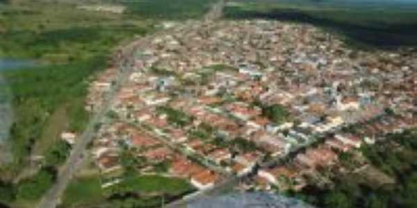 Vista aérea de Novo Oriente Ceará, Por George Aguiar