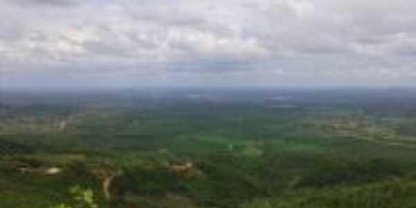 Vista de Novo Oriente do alto da Serra da Gameleira, Por George Aguiar
