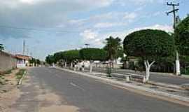 Ocara - Ocara-CE-Avenida Principal-Foto:jponte.ponte