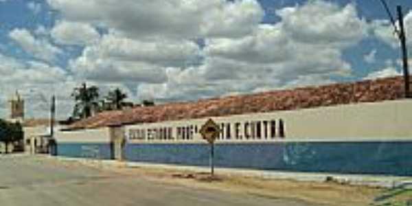 Escola Maria E.Lenita F.Cintra em Riacho do Sertão-AL-Foto:Danúbio alves