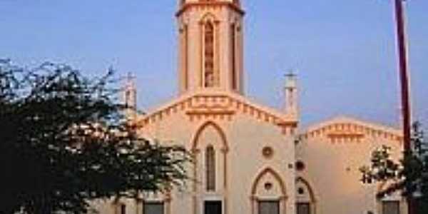 Matriz do Sagrado Coração de Jesus-Foto:palestina do cariri …