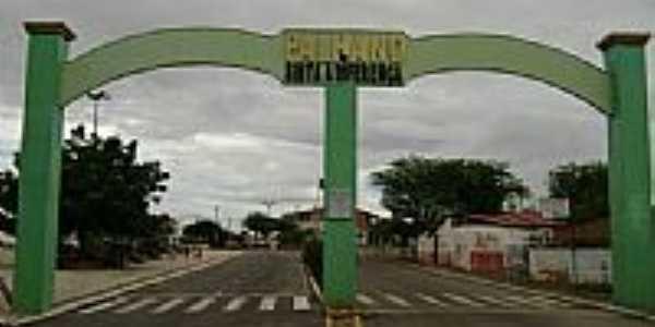 Portal da cidade de Palhano-Foto:luan.airton