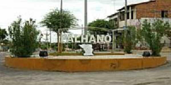 Rotatória na cidade de Palhano-Foto:Isaac Borman