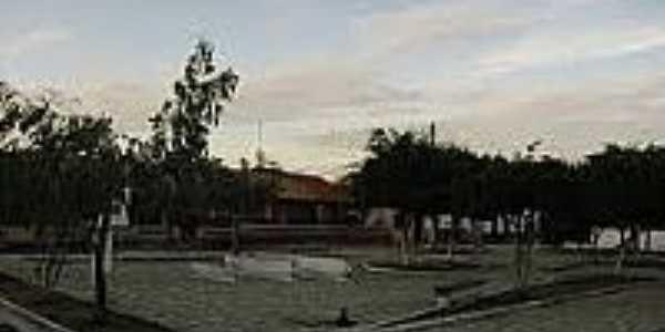 Praça do Colégio em Paracuá-Foto:paracuanaweb.