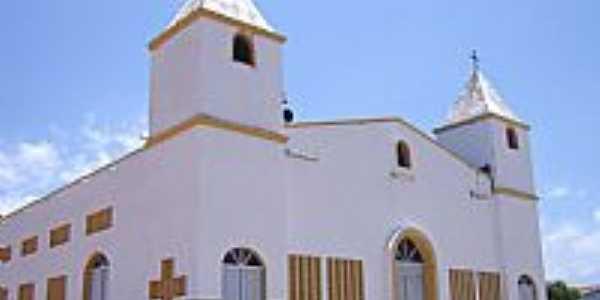 Paraipaba-CE-Matriz de Santa Rita de C�ssia-Foto:VICENTE A. QUEIROZ