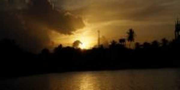 Pôr do sol em Parazinho, Por Maria