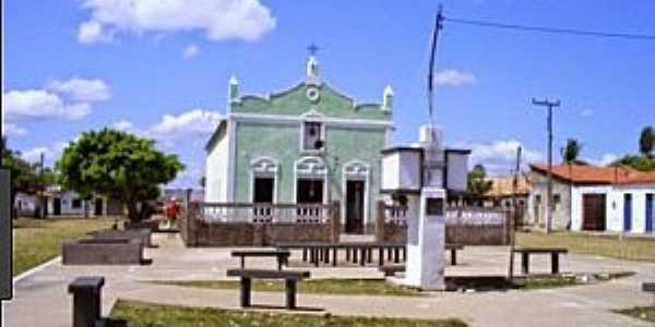 Passagem-CE-Igreja no centro da Vila-Foto:Chavalzada