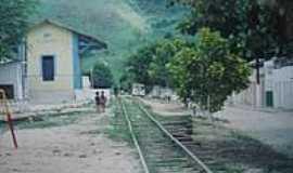 Rocha Cavalcante - Estação ferroviária-Foto:estacoesferroviarias