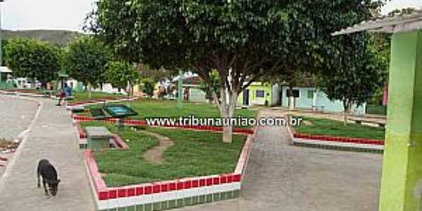 Rocha Cavalcante-AL-Praça central-Foto:www.tribunauniao.com.br