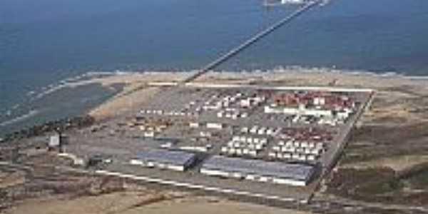 Porto de Pec�m-CE-Foto:mendesbarroso