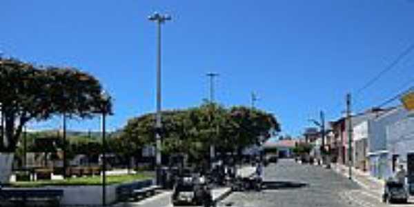 Pedra Branca-CE-Praça Leonardo Mota-Foto:MACÍLIO GOMES