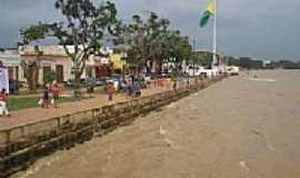 Rio Branco - Enchente do Rio Acre, beijando a cidade de Rio Branco-Foto:JEZAFLU=ACRE=BRASIL