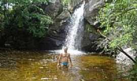 Pessoa Anta - Cachoeira São Miguel em Pessoa Anta - CE por antoniofilho10