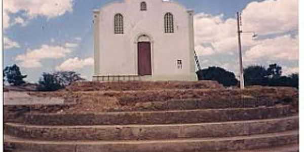 Pindoguaba-CE-Igreja sendo restaurada-Foto:pindoguabaemdestaque.