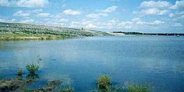 Pirabibu-CE-Açude ou barragem-Foto:Wikimapia