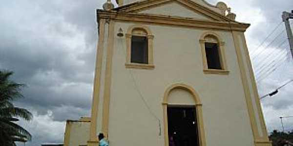 Santa Efigênia-AL-Igreja de Santa Efegênia-Foto:santaefigeniacapela-al.