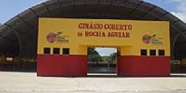 Gin�sio Poliesportivo em Pires Ferreira-CE-Foto:Pires Ferreira