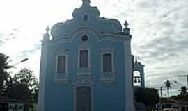 Santa Luzia do Norte - Igreja de santa Luzia em Santa Luzia do Norte-Foto:Sergio Falcetti