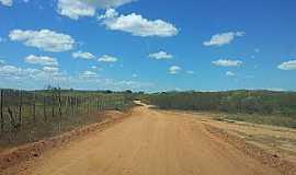 Quincoé - Quincoé-CE-Estrada de terra-Foto:Lindomar Rodrigues