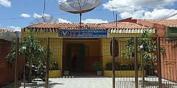 Quincoé-CE-Rádio do Distrito-Foto:Lindomar Rodrigues
