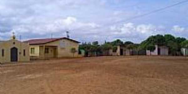 Quitaiús-CE-Vila no entorno da Represa Rosário-Foto:professor_pepe