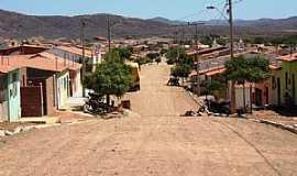 Quiterianópolis - Quiterianópolis-CE-Rua principal e vista da cidade e região-Foto:Cícero Lacerda