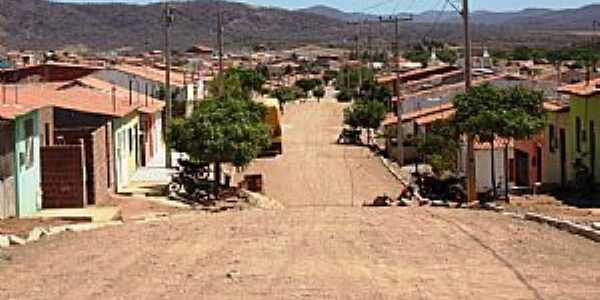 Quiterianópolis-CE-Rua principal e vista da cidade e região-Foto:Cícero Lacerda