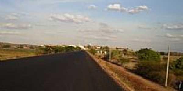 Chegando à Quixelô-Foto:marquix